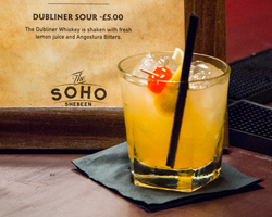 THE SOHO SHEBEEN IRISH POP-UP BAR @ GREEK STREET, SOHO